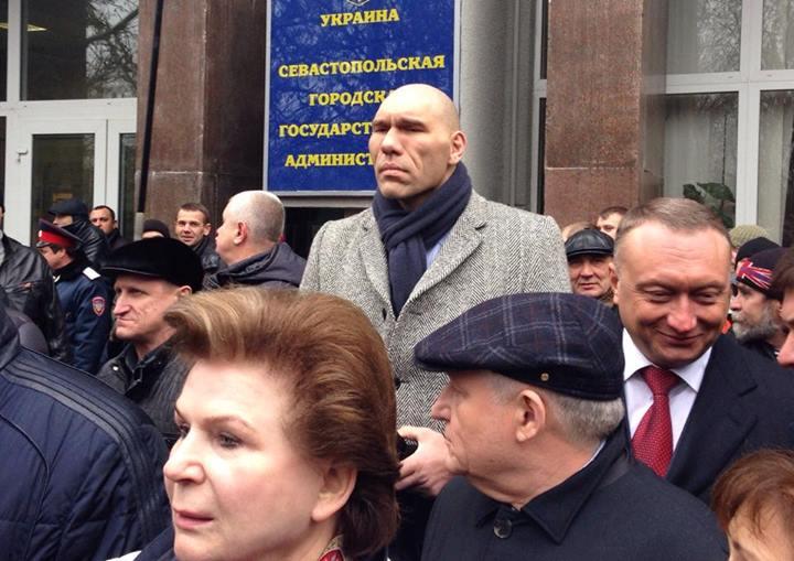 В Севастополь приехал Н.Валуев