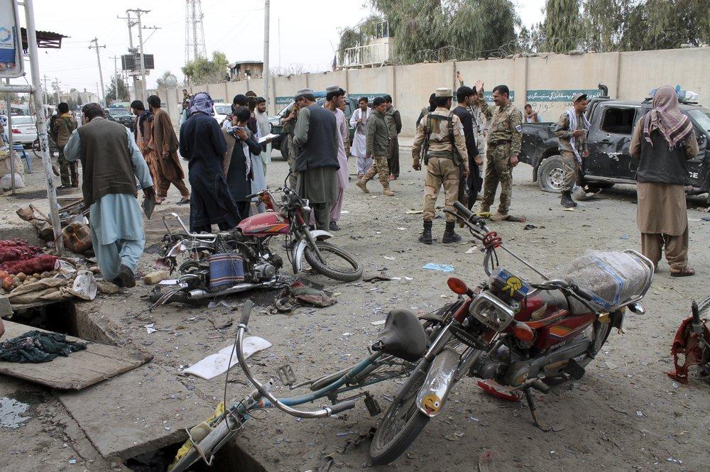 В Афганистане в результате взрыва бомбы погибли полицейские и ребенок