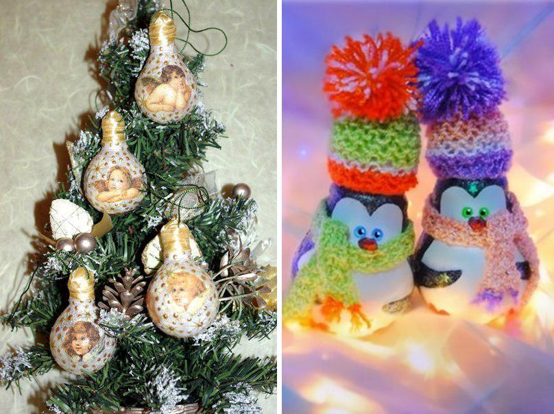 Игрушки новогодние игрушки на елку своими руками 38