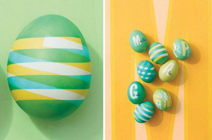 Как покрасить яйца на пасху оригинально