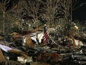 20 tornadoes struck the southern U.S. states (added photos)