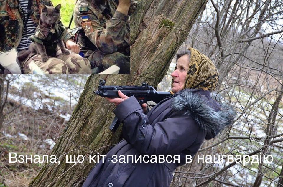 На Львівщині бабуся навчається військовій справі - фото 5