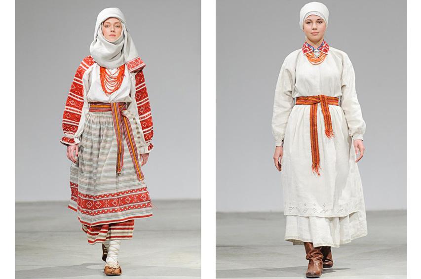 ... На Ukrainian Fashion Week презентували автентичні національні костюми -  фото 13 ... 12b82187b3599