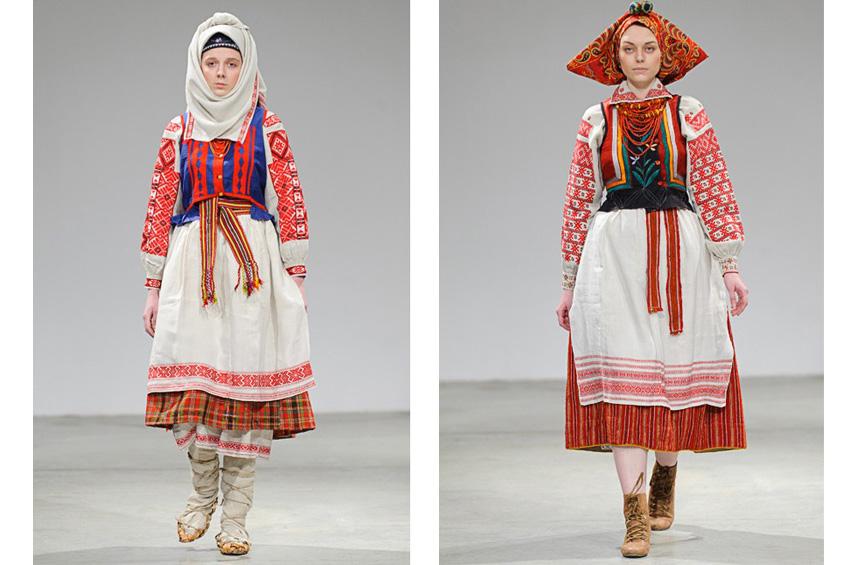 ... На Ukrainian Fashion Week презентували автентичні національні костюми -  фото 14 ... 9105e318456ab