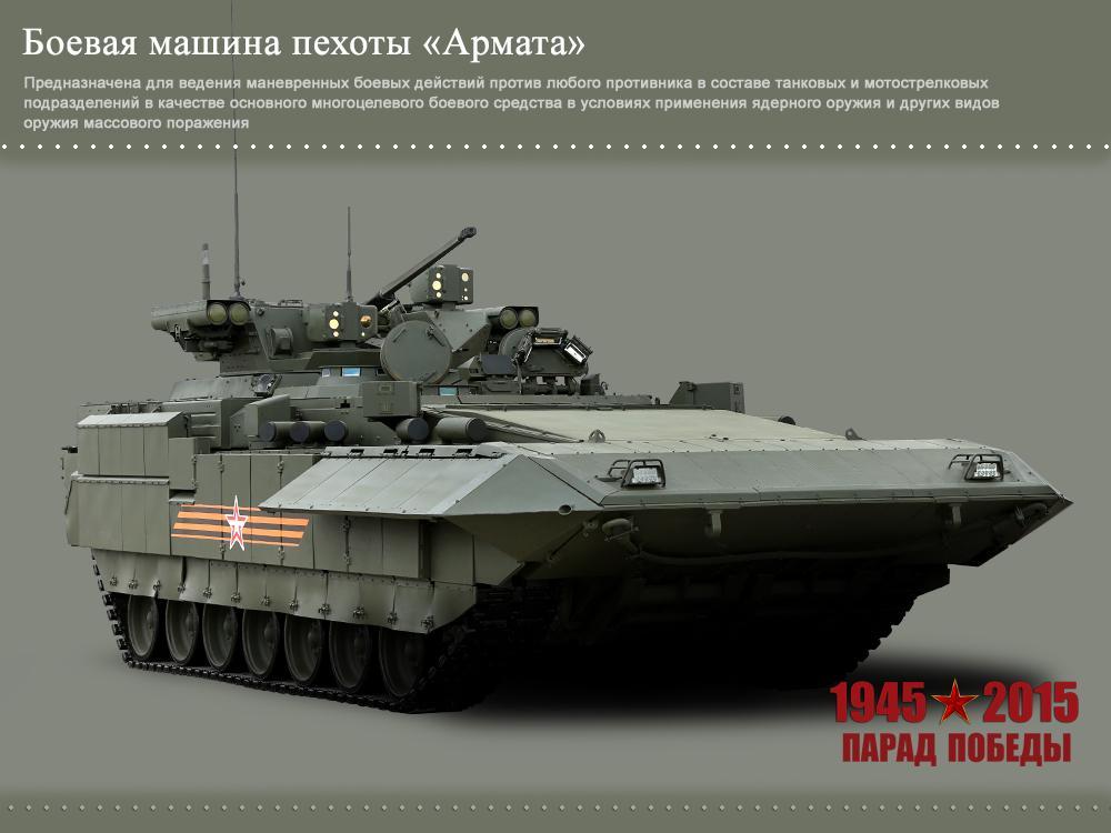 В Минобороны РФ обнародовали фото новой техники, которая будет представлена на параде 9 мая - новости на УНН 4 мая 2015, 18:51