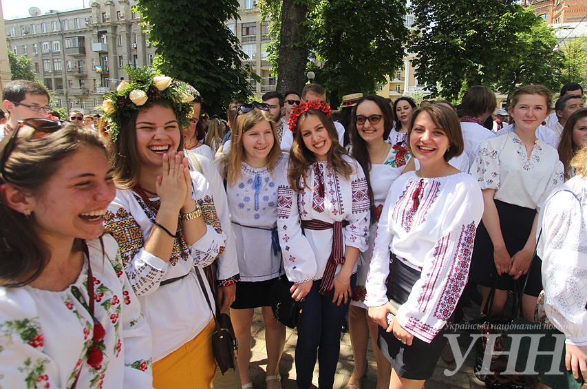 ... У Києві відбувся Мегамарш у вишиванках - фото 25 ... 27b23b6747379