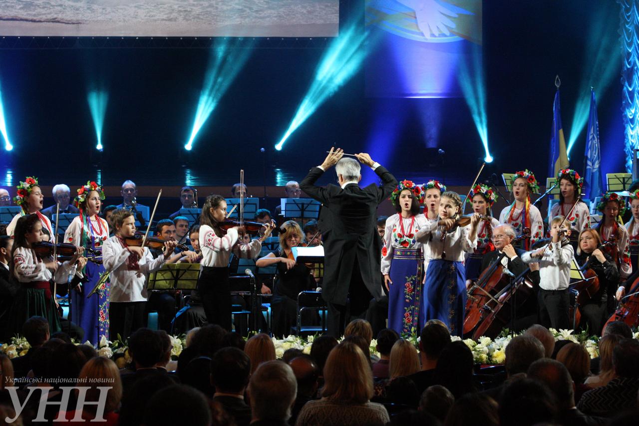Украина отметила юбилей ООН праздничным концертом - фото 7