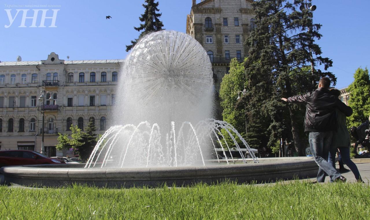 ВКиеве заработали 28 фонтанов
