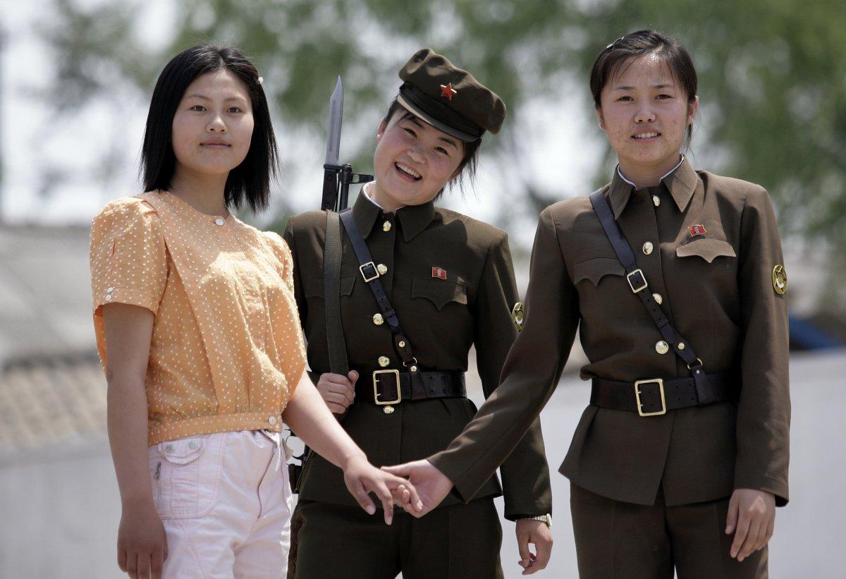 уже красивые северные кореянки фото чтобы хрустящей корочкой