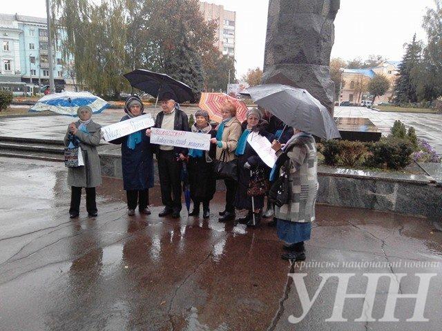 В Житомире прошла акция в поддержку политзаключенных - фото 3