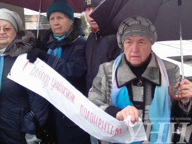 В Житомире прошла акция в поддержку политзаключенных - фото 1