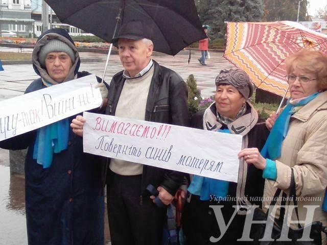 В Житомире прошла акция в поддержку политзаключенных - фото 4