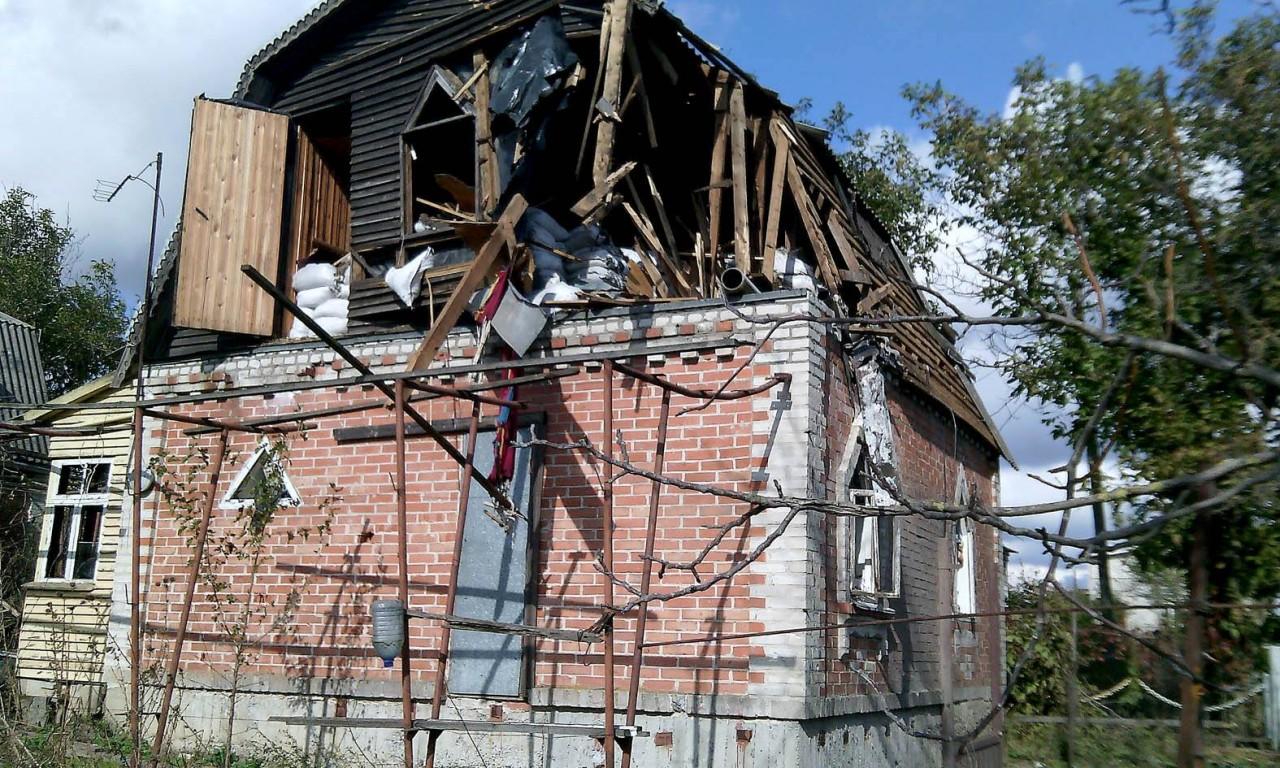 Сепаратисти знищили цілу вулицю вВодяному