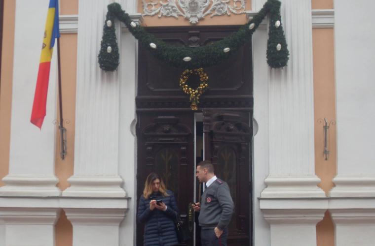 Изздания администрации президента Молдавии пропал флагЕС