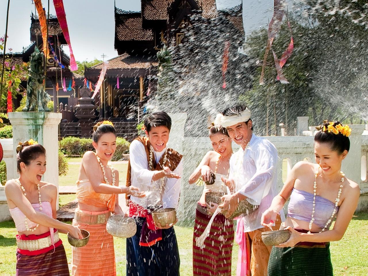 Картинки тайского нового года
