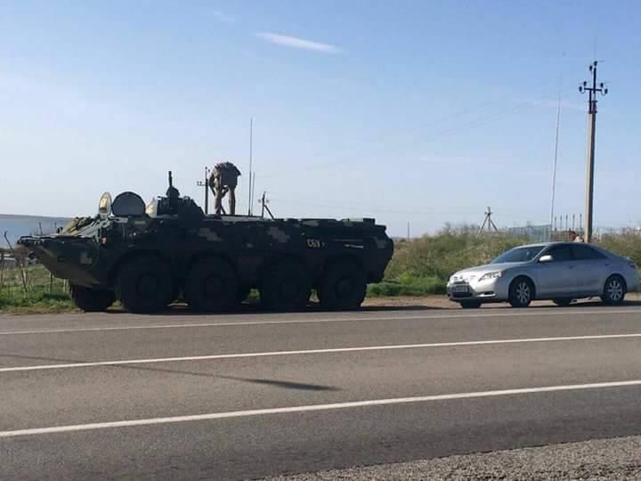 ВНиколаевской области перед майскими праздниками СБУ выставило блокпосты