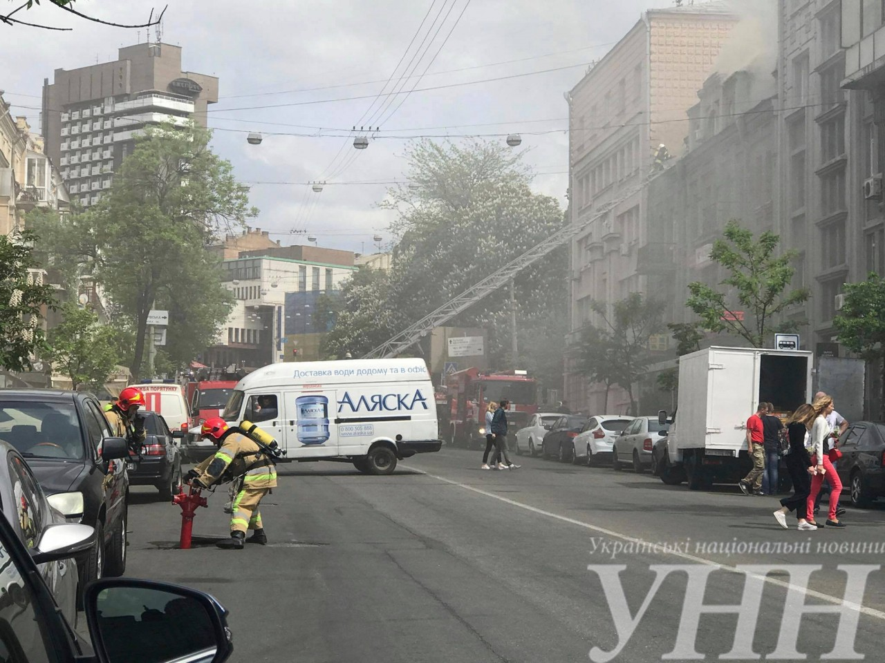 УКиєві сталася пожежа втриповерховому будинку наПетлюри