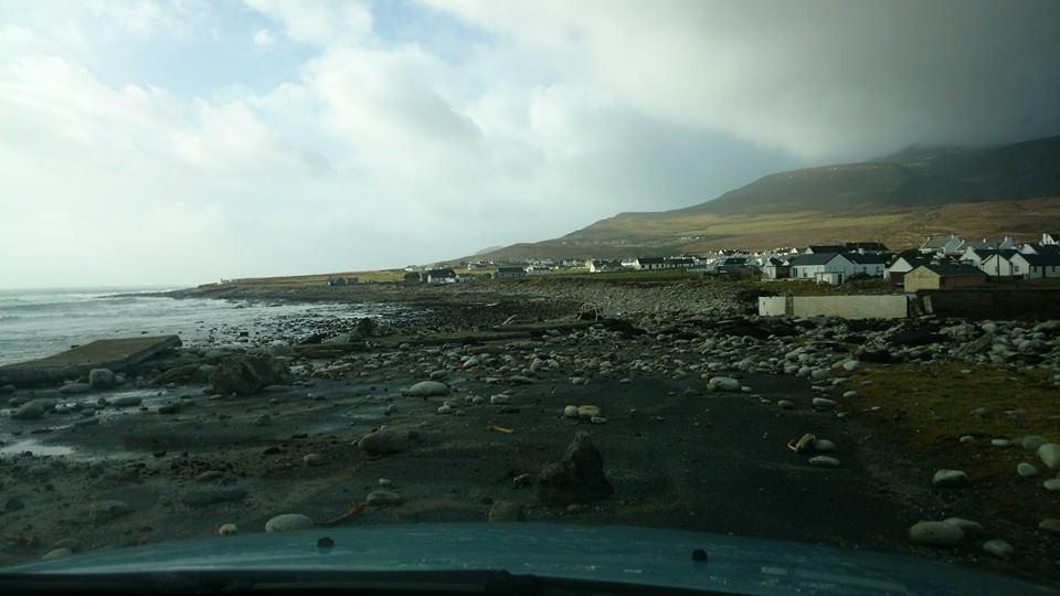 Наирландский остров неожиданно вернулся песчаный пляж