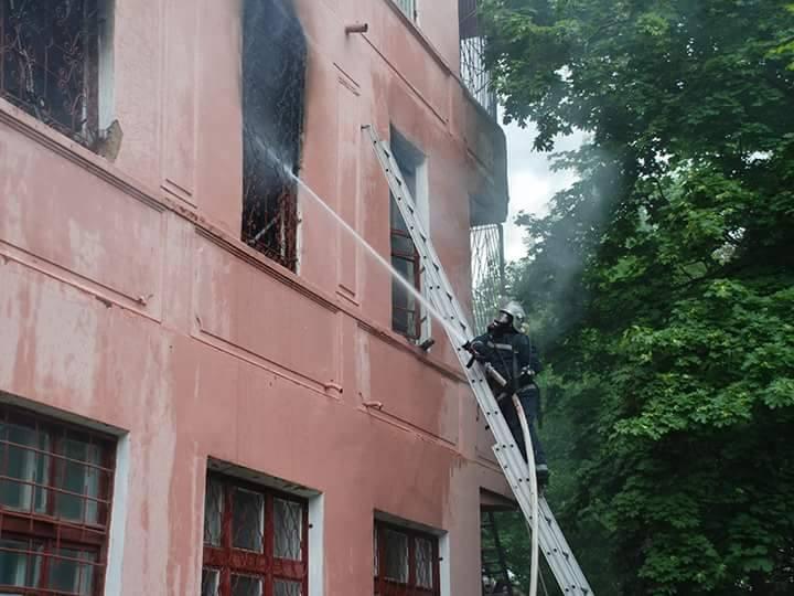 Пожежа упсихіатричній лікарні під Миколаєвом