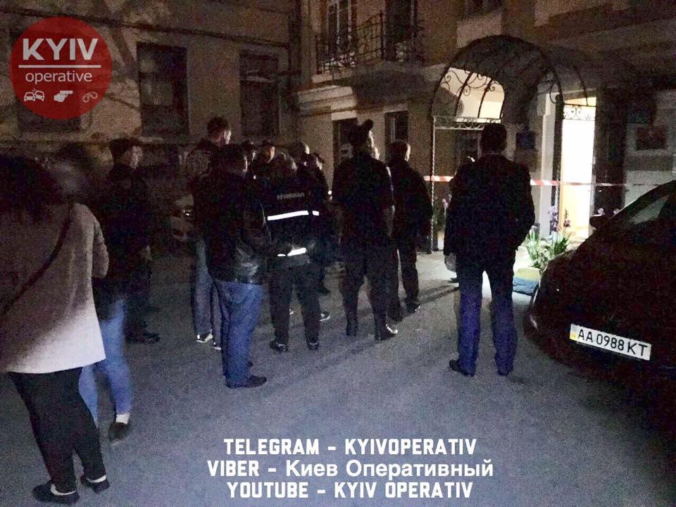 Вибух біля офісу КУН уКиєві: поліція повідомила подробиці і показала фото