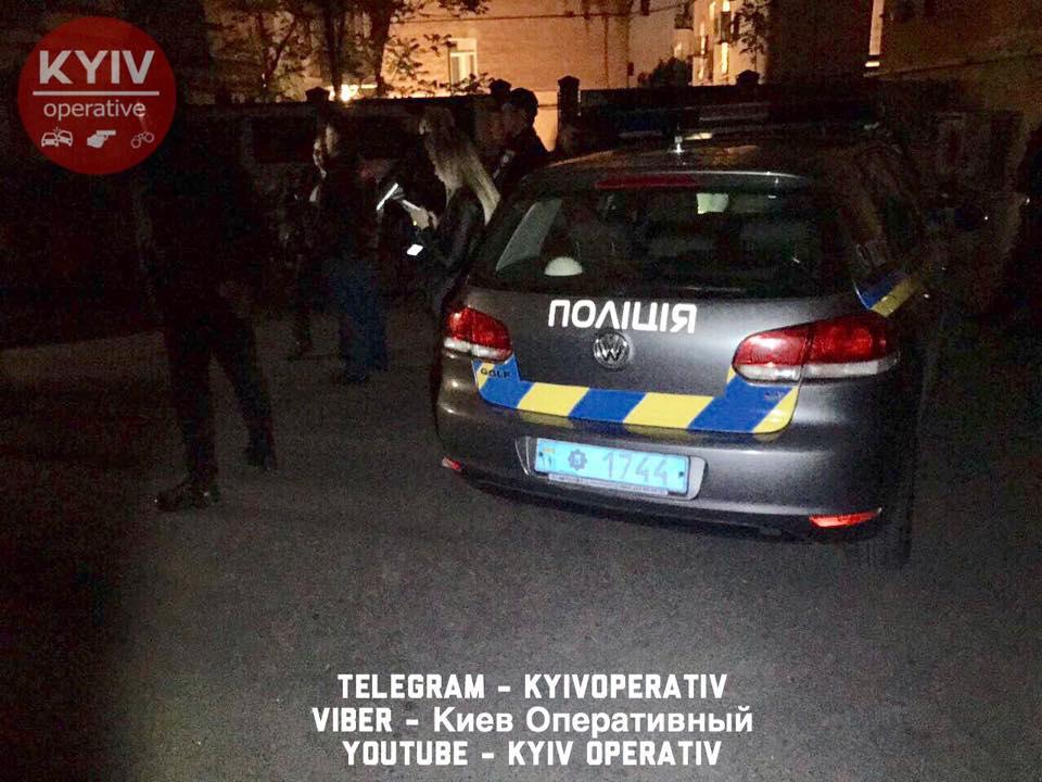 Вофіс Конгресу українських націоналістів уКиєві кинули бойову гранату