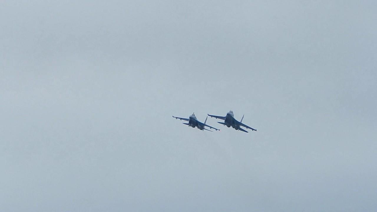 Українські військові льотчики виконали низку завдань на винищувачах - фото 1