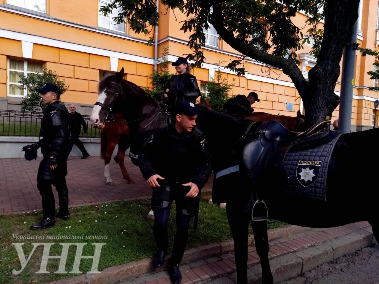 УКиєві стартував Марш рівності, маршрут руху змінено через протести