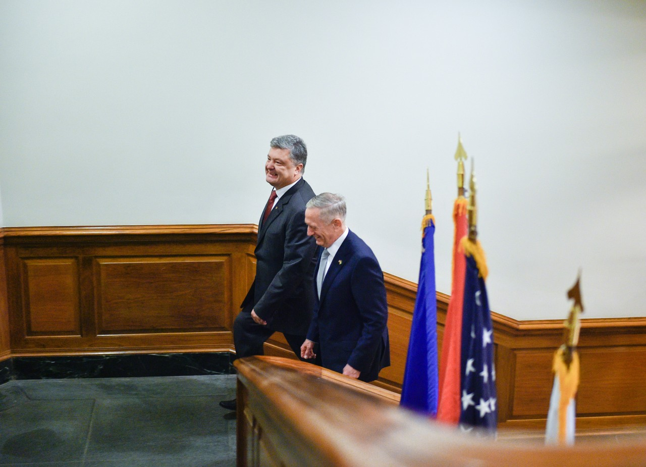 Президент України провів сильну зустріч із міністром оборони США— речник