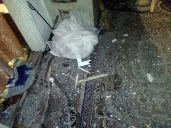 Від обстрілів уМар'їнці пошкоджено три будівлі - поліція