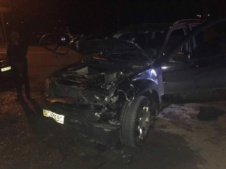 Поблизу Рівного водій напідпитку нашаленій швидкості насмерть збив двох жінок