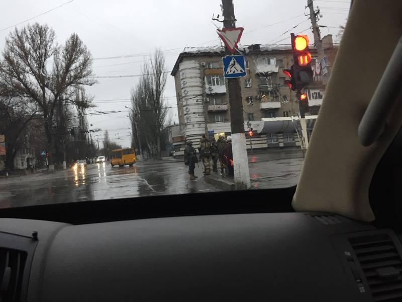 Спостерегачі ОБСЄ зафіксували колону бронетехніки, яка заїхала доокупованого Луганська
