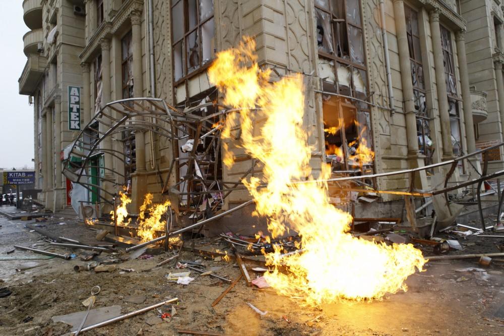 Уцентрі Баку стався потужний вибух ужитловому будинку