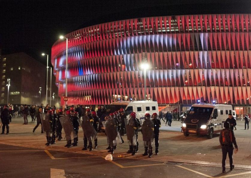 В Іспанії поліцейський помер після сутичок із фанатами московського «Спартака»