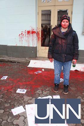 В Ужгороде напали на участников акции по защите прав женщин - фото 11