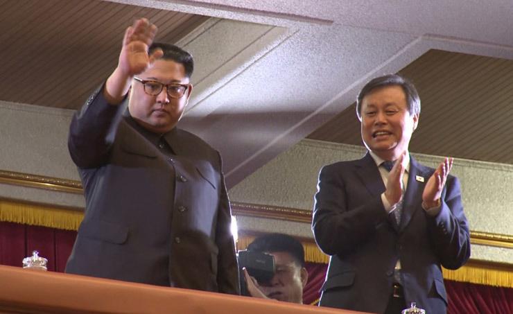 Кім Чен Ин відвідав концерт південнокорейських музикантів