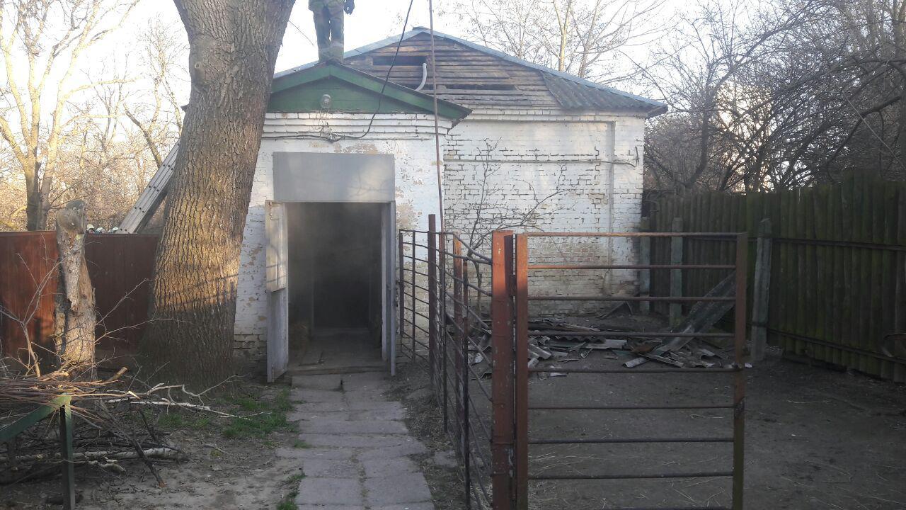 Укиївському зоопарку сталася пожежа