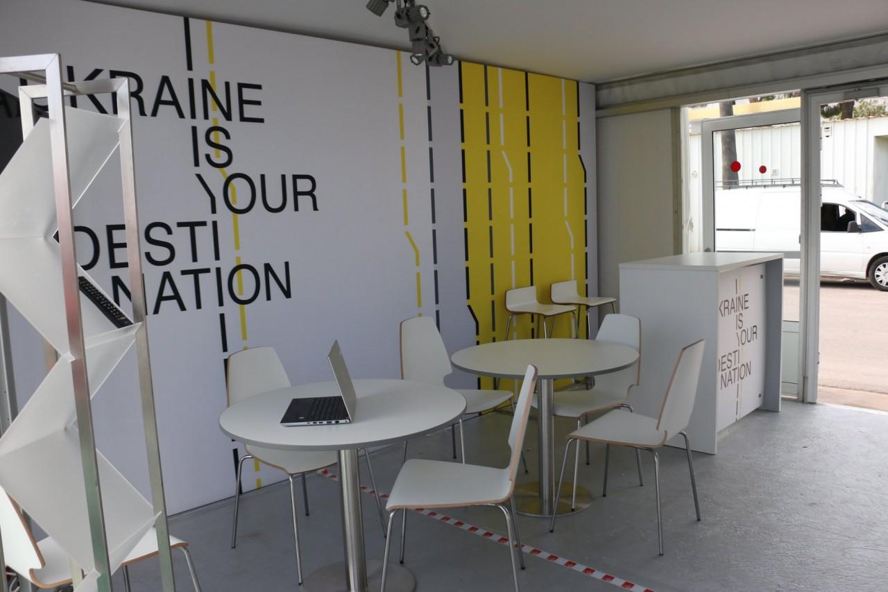 УКаннах відкрився Український національний павільйон