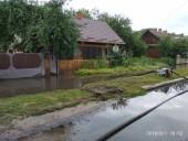 Из-за ненастья подтопило город Сарны - фото 11