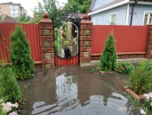 Из-за ненастья подтопило город Сарны - фото 8