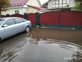 Из-за ненастья подтопило город Сарны - фото 1