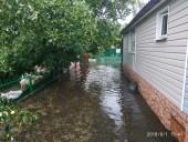 Из-за ненастья подтопило город Сарны - фото 10