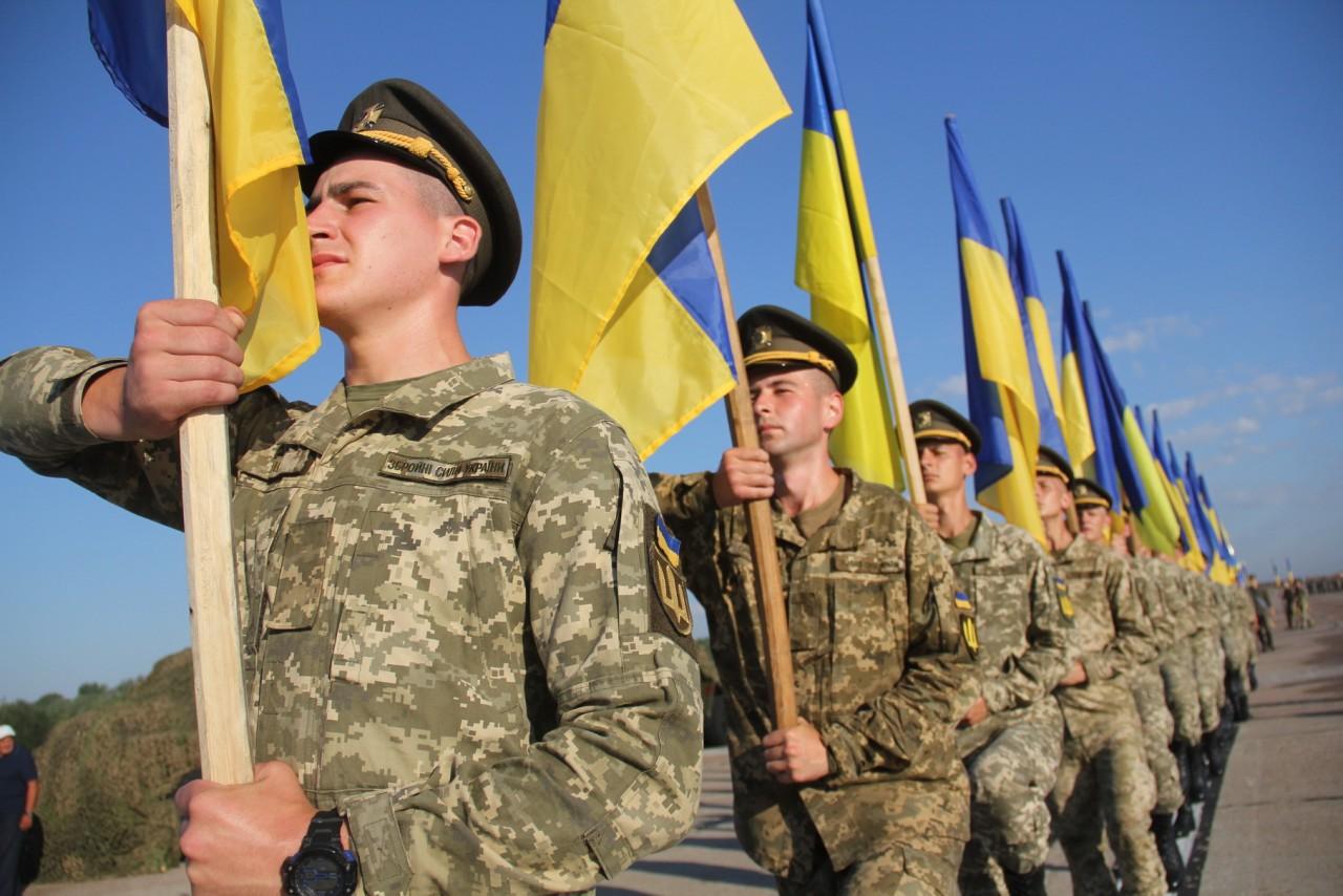 Женщины-военные впервые пойдут на параде ко Дню независимости - фото 22