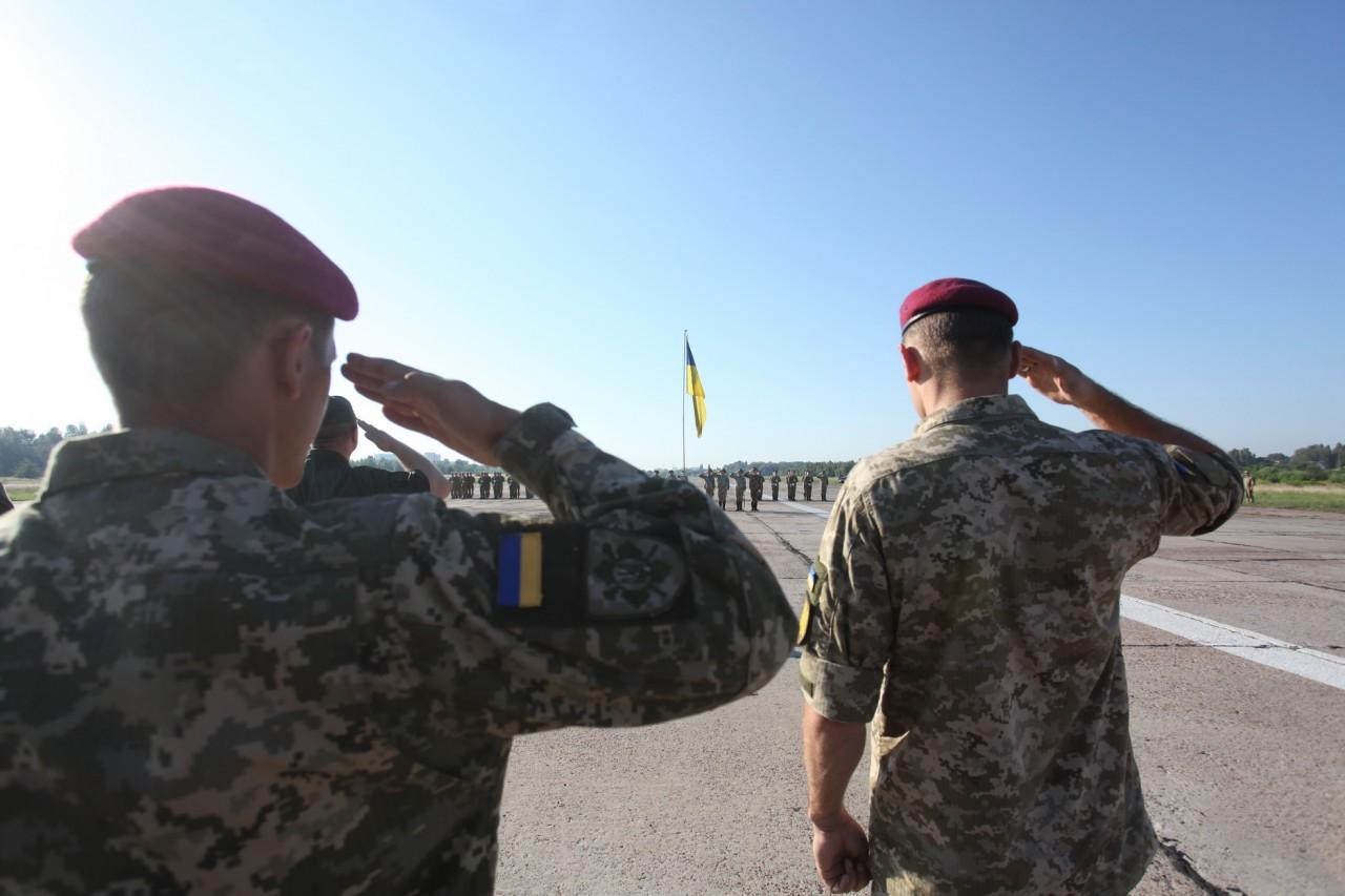 Женщины-военные впервые пойдут на параде ко Дню независимости - фото 20