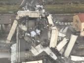 В сети показали момент обрушения моста на севере Италии - фото 4