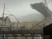 В сети показали момент обрушения моста на севере Италии - фото 5