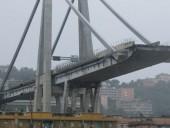 В сети показали момент обрушения моста на севере Италии - фото 2