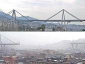 В сети показали момент обрушения моста на севере Италии - фото 6