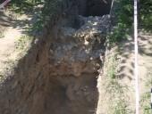В Киево-Печерской Лавре обнаружили остатки фортификационной стены времен Киевской Руси - фото 2