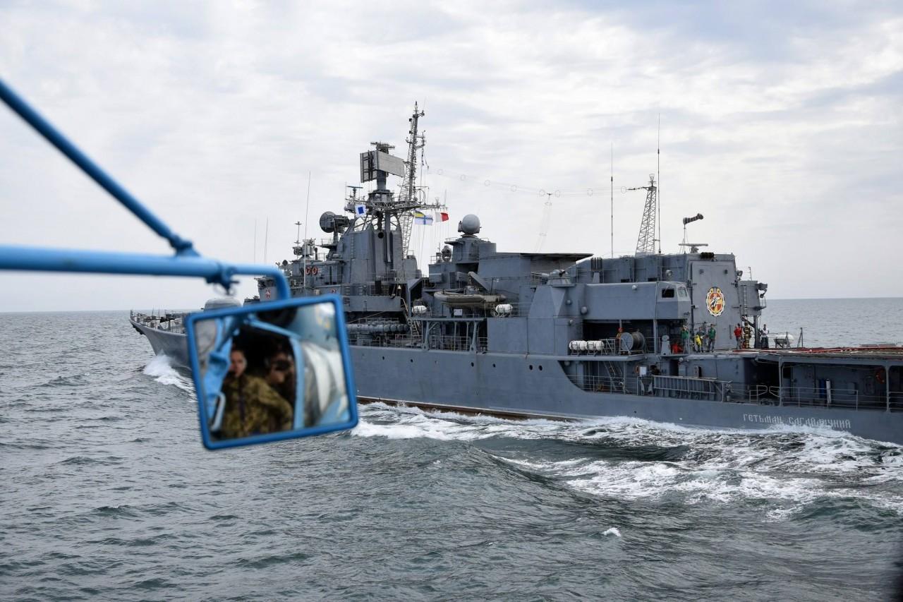 Шторм-2018: украинские ВМС провели боевые стрельбы - фото 8