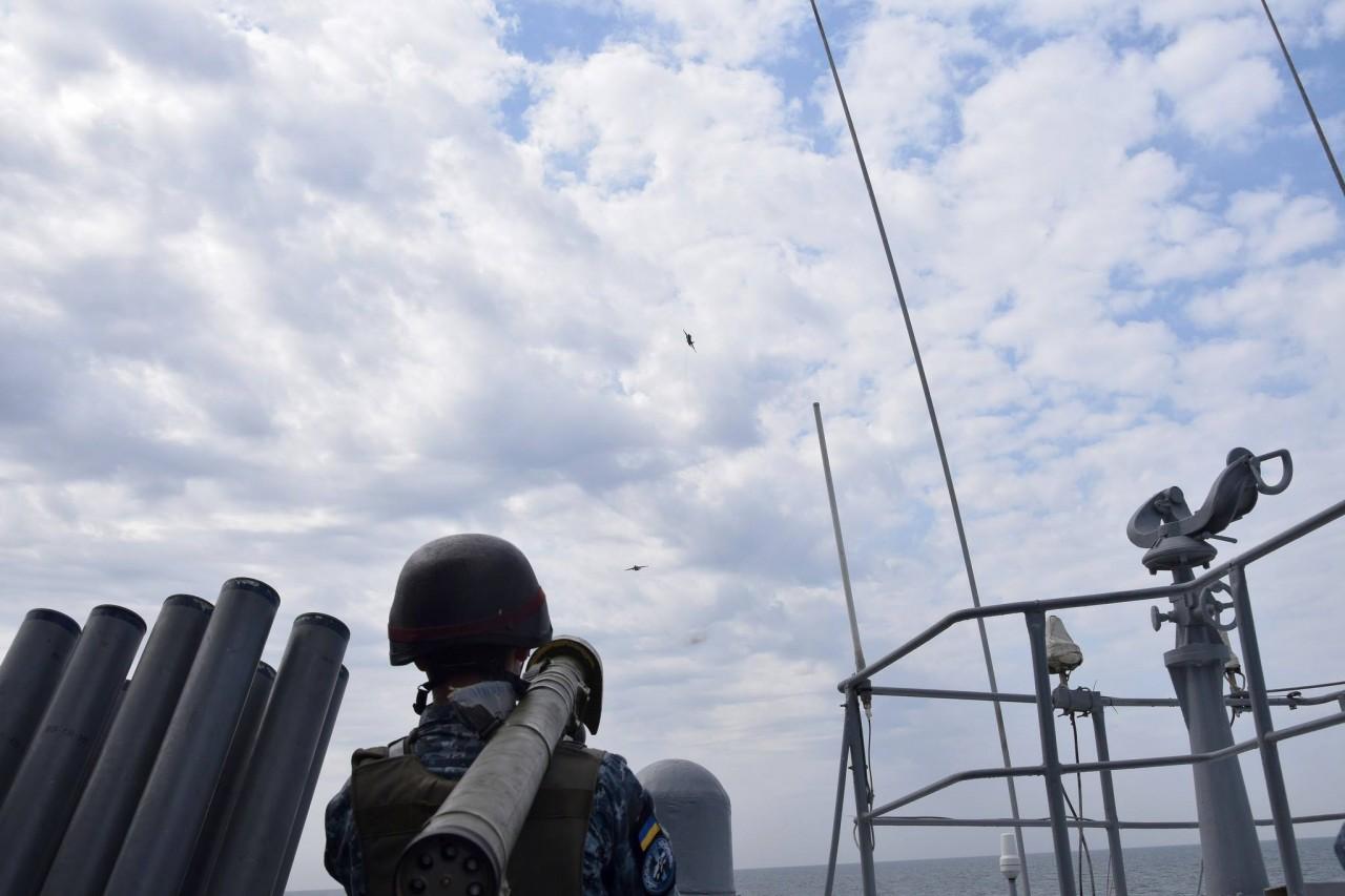 Шторм-2018: украинские ВМС провели боевые стрельбы - фото 10